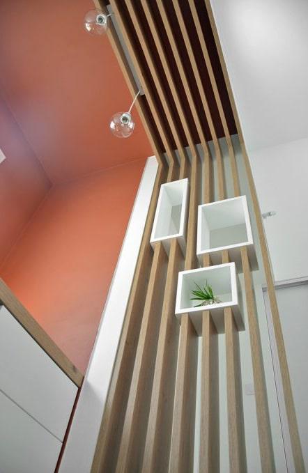 bureau aménagement claustra niche
