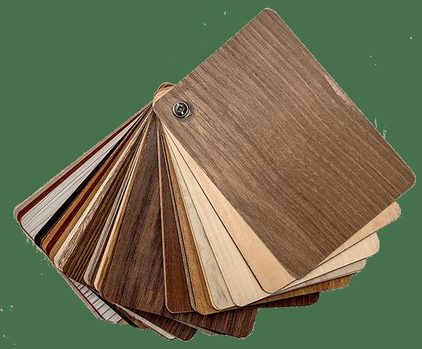 Échantillons de bois